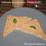 tartinade maquereau tomate basilic