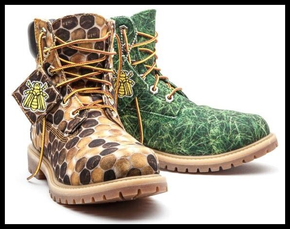 timberland pharrell williams bee line honey et grass
