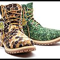 Boots bee line honey - boots bee line grass - timberland & pharrell williams