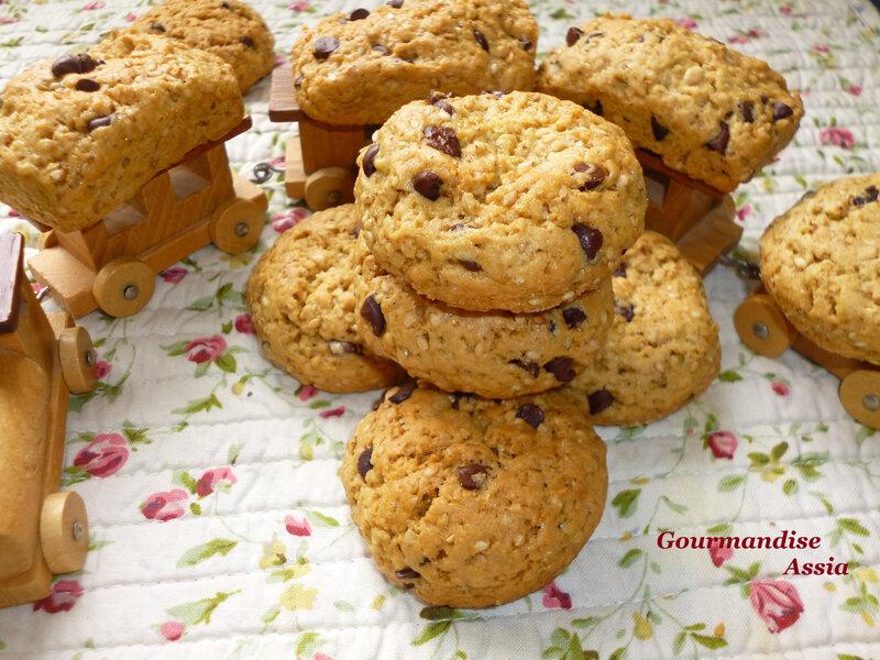 Cookies aux sésames 3