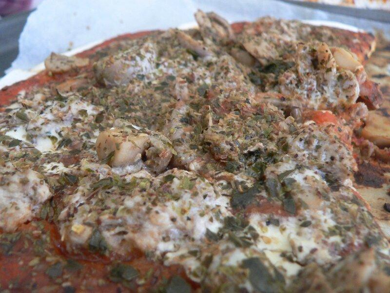 pizza thon sans lactose