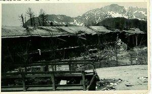 epagliffl-Obersalzberg 1945 ruines de la caserne des SS