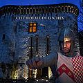 La cité royale de loches vous fait voyager à travers le temps.