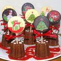 Cannelés & sucettes au chocolat
