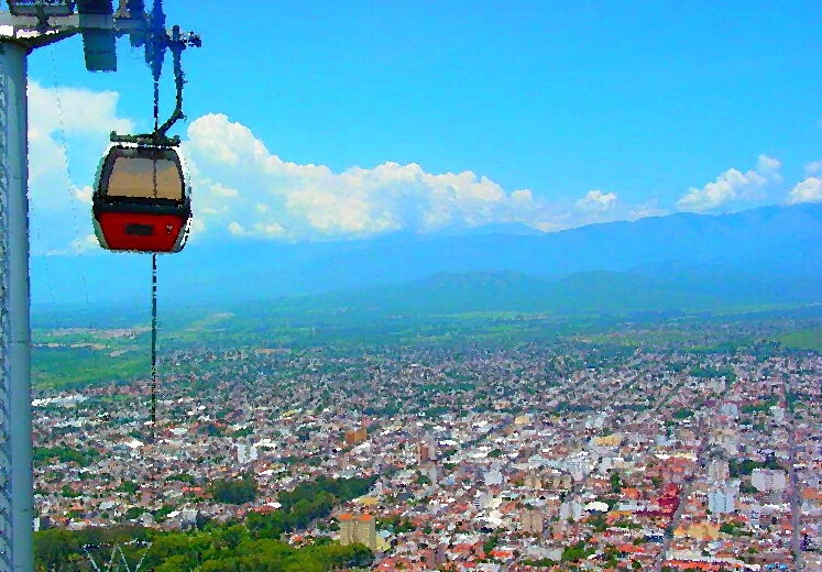 Cable_Car_to_the_Cerro_San_Bernardo_-_Salta_-_Argentina