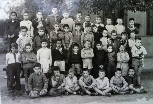 Gueliz Cours Élémentaire 1 1957-58