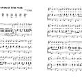 Je voudrais être noir (partition - sheet music)