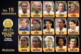 ballon d'or feminin 31
