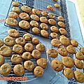 Cookies à la pâte de spéculoos 048