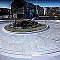 Rond-point à frederick (maryland)