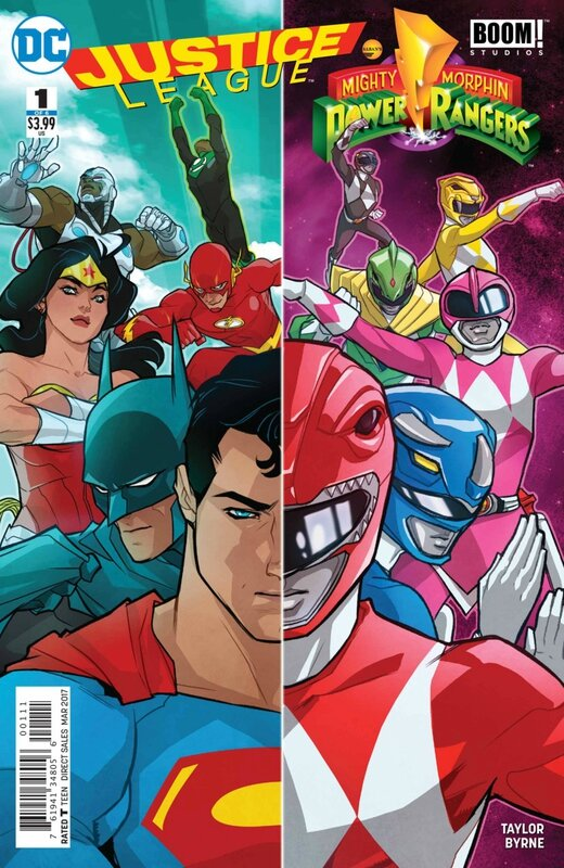 justice league mighty morphin power rangers 01
