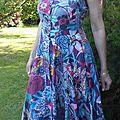 Ma première robe bustier de l'été