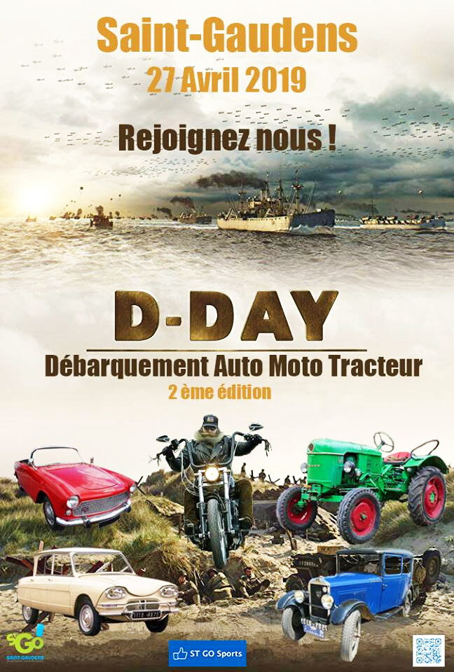 0 - Affiche D Day St Go 2019