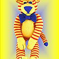 Buddy tiger - lynne coles creations