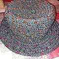 Essais chapeaux crochet