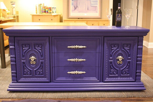 furniture-painting-terrific-purple-a-very-unusual-choice-but-it-sure-looks-cool-here