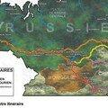 Itinéraire en russie, sibérie puis mongolie