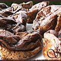 Muffins flan poire-chocolat