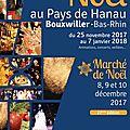 Marché de noël samedi 9 décembre 2017