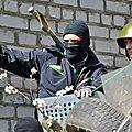 A slaviansk, la résistance populaire du donbass a pris le relais de télévision du district