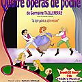 4 opéras de poche de germaine tailleferre jeudi 27 avril 2018 à 21h au théâtre musical de pibrac