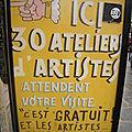 Squat d'artistes au 59 rue de rivoli à paris