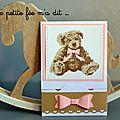 Quelques cartes de félicitations pour une naissance ou un baptême