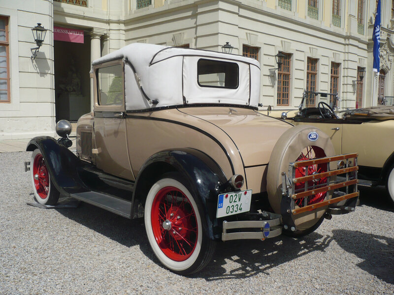 FORD Model A Sport 2door coupé 1929 Ludwigsburg (2)