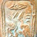 Décor moulé sur les céramiques de Quang Duc
