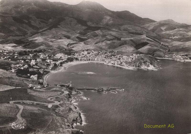 673 Vue panoramique aérienne 1957