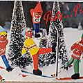 Skieurs - datée 1975