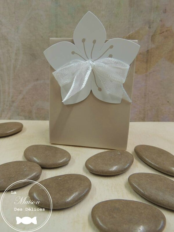 Dragees Mariage Couleur Taupe Theme Mariage Zen Champetre Chic