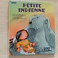Petite indienne, jean-pierre idatte, éditions 3 chardons