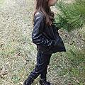 Pantalon petite fille inspiré du modèle super bison