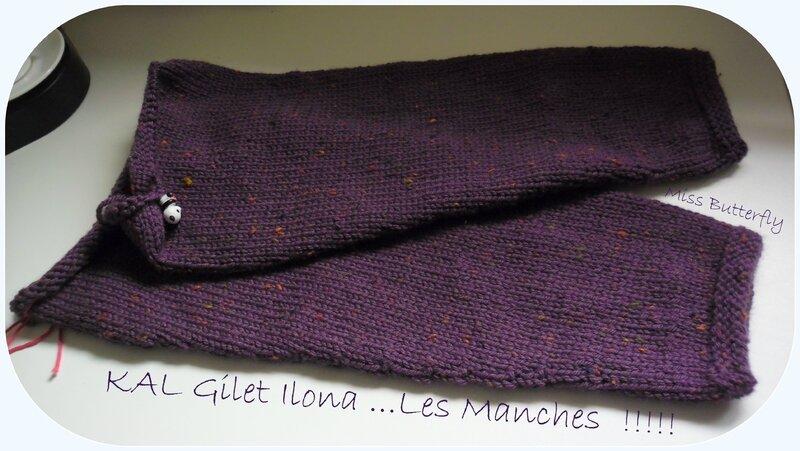 KAL Gilet Ilona -Les Manches