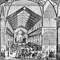 Les halles (1854)