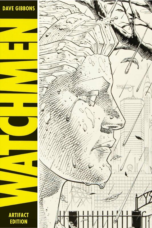 artifact edition dave gibbons watchmen HC