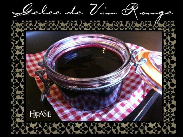 Gelée de Vin rouge