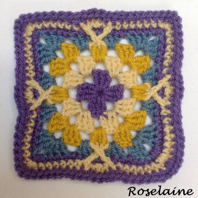 Roselaine Persian Tiles Squares 2