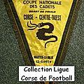 08 - ligue corse de football - album n°232 - fanions