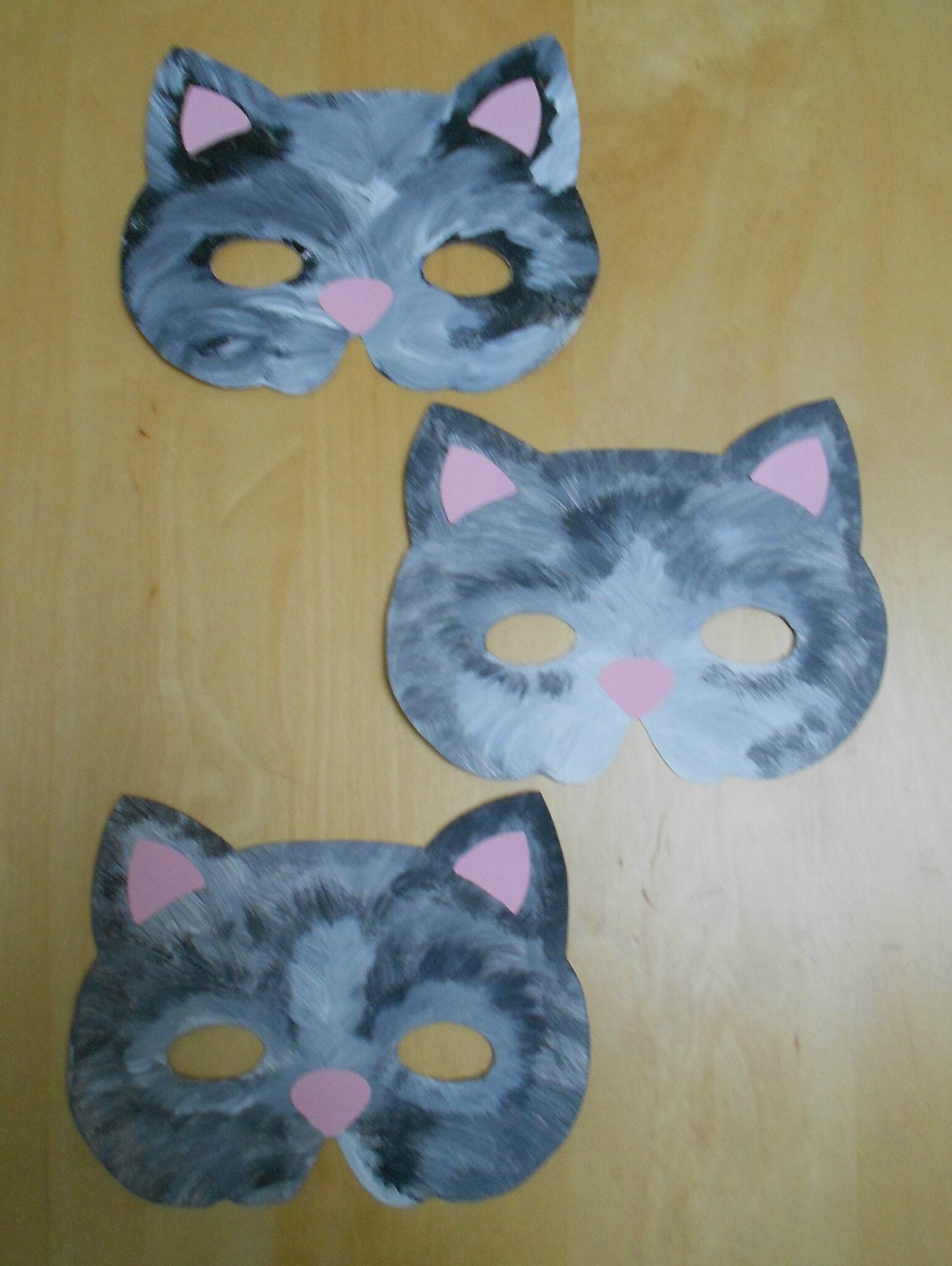 Nos masques chats