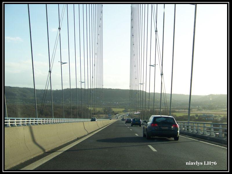 pont de Normandie par la rive droite 16