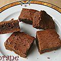 Brownie aux chocolats pralinés de noël