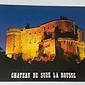 Suze la Rousse - Le chateau féodal