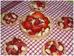 Tartelettes fraises framboises