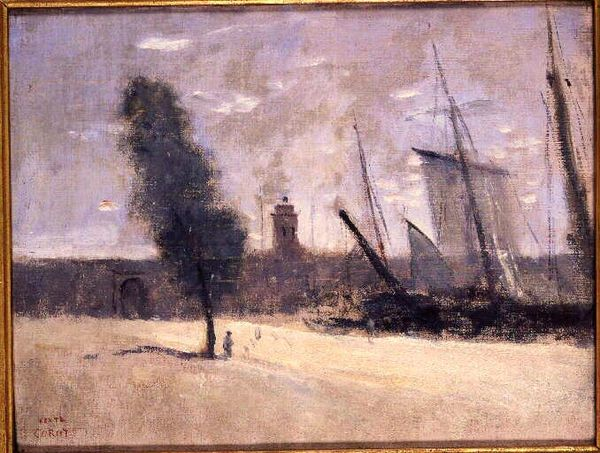 Corot Camille Dunkerque remparts et porte dentree