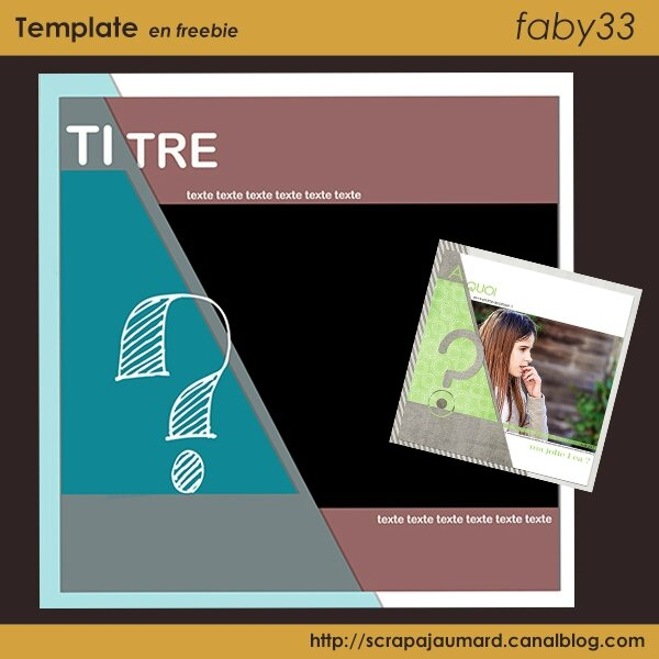 faby33 preview template A QUOI
