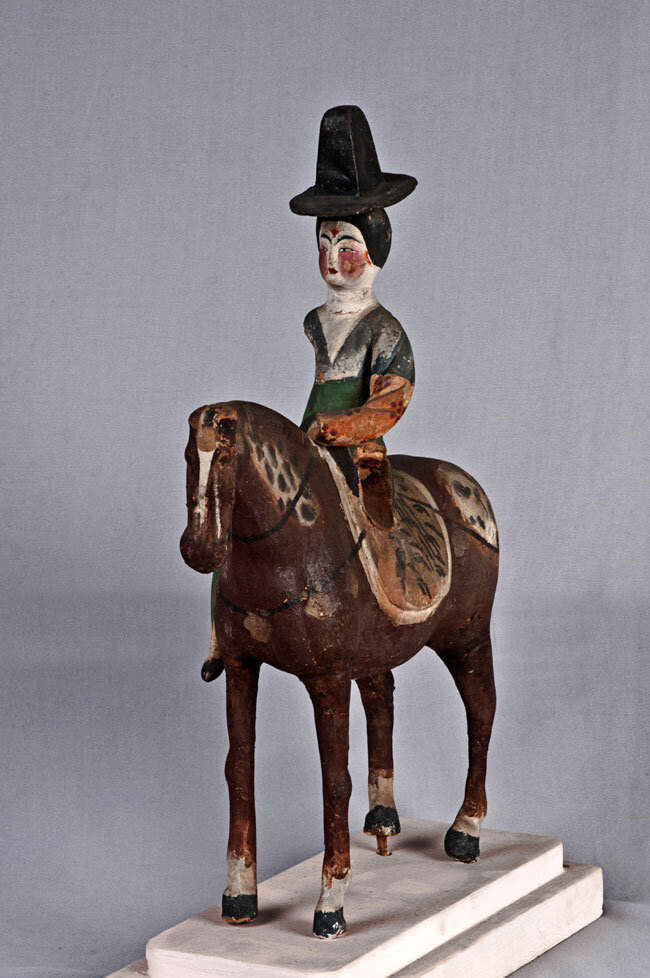 Lady horse rider, 7th - 8th Century A