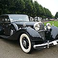Mercedes benz 540k w29 freestone & webb 1936