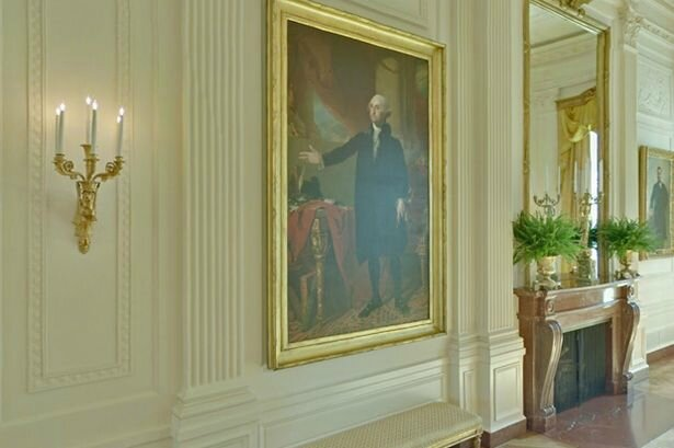 Google Art Project view inside the White House (1)